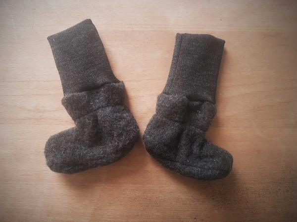Babyschuhe Wolle