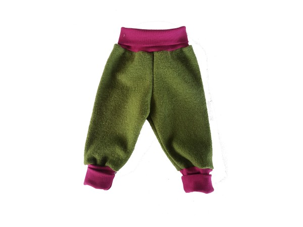 baby walkhose oliv beere